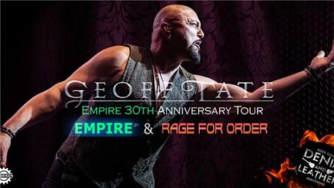 GEOFF TATE (USA) - EMPIRE 30th Anniversary Tour!