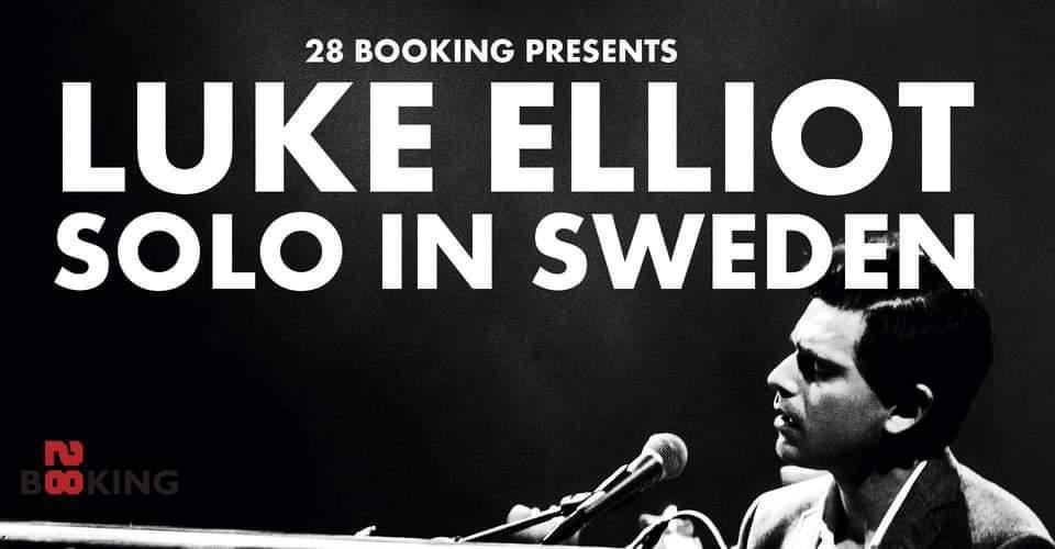 Make it Sound och 28 Booking presenterar Luke Elliot (USA)
